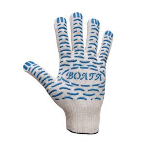 Перчатки Х/Б 10 класс вязки с ПВХ