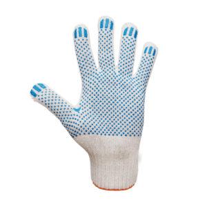 Перчатки Х/Б 7,5 класс вязки с ПВХ